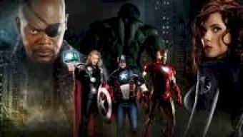 > Vídeo > Bastidores de Os Vingadores com o diretor e o elenco (foto).