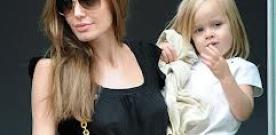 Filha de Angelina Jolie e Brad Pitt vai fazer a estréia no cinema (foto).